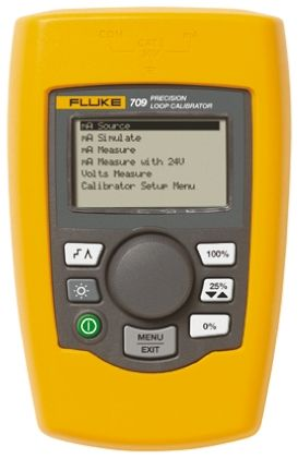 Fluke 709 Multi Function Calibrator 30V 24mA UKAS Calibration