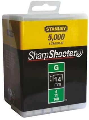 CK STAPLES LOW VOLTAGE CABLE TACKS 14MM Box of 1000
