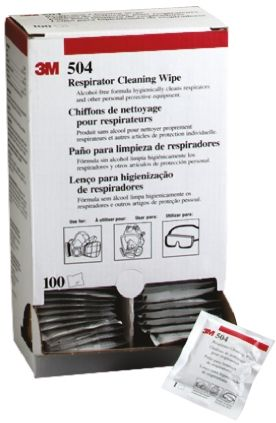 3M 504 Face Seal Cleaner for use with 3M Elastomeric Facepiece Respirators