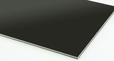 Black Neoprene Rubber Sheets 1m X 2m X 3mm Rs Components