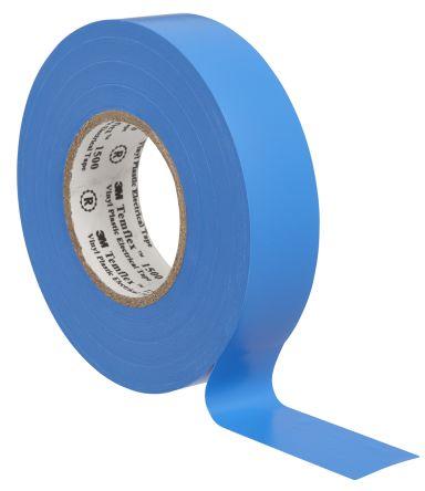 Ruban adh/ésif isolation PVC /électrique 19mm x 20m couleur bleue