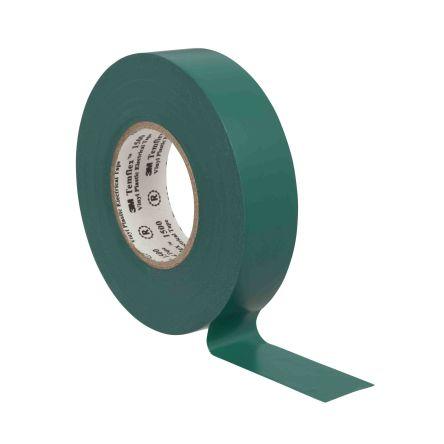 3M Temflex 1500 Green Electrical Tape, 19mm x 20m