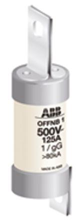 ABB 100A B1 Offset Tag Fuse, gG, 500V HRC