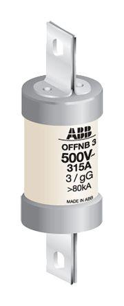 ABB 80A B1 Offset Tag Fuse, gG, 500V HRC