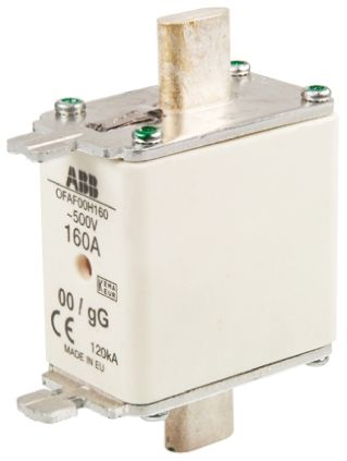 ABB 160A 0 HRC Centred Tag Fuse, gG, 500V