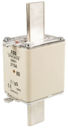 ABB 315A 2 HRC Centred Tag Fuse, gG, 500V