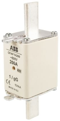 ABB 200A 1 HRC Centred Tag Fuse, gG, 500V