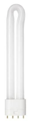 Bombillas fluorescentes compactas no integradas GE 41088, 4 pines, 18 W, 3000K, Blanco Cálido 25