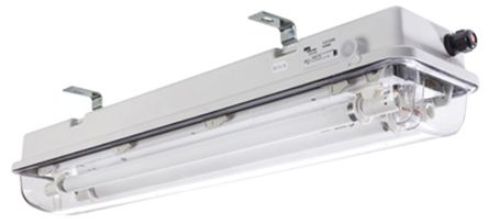 2 x 18 W, Bulkhead Light Fitting, 1, 2, 21, 22, Fluorescent, Temp T4, T5