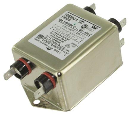 10EMC1 Powerline Filter 97.8mm Length,, 10 A, 250 V ac product photo