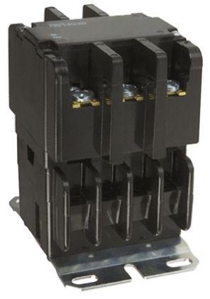 TE Connectivity 3 Pole Contactor, 40 A, 110 V ac Coil, 1NO