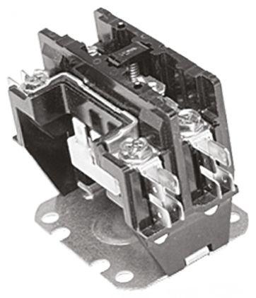 TE Connectivity 1 Pole Contactor, 25 A, 230 V ac Coil, 1NO