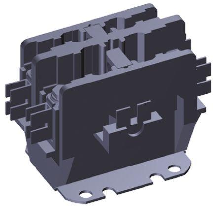 TE Connectivity 2 Pole Contactor, 30 A, 110 V ac Coil, 1NO