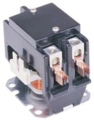 TE Connectivity 2 Pole Contactor, 30 A, 230 V ac Coil, 1NO
