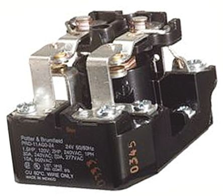 CONTACTOR, HEAVY DUTY POWER, 30A, DPDT