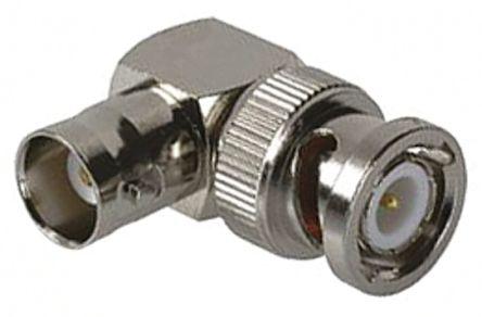 Right Angle 50O RF Adapter BNC Socket to BNC Plug product photo