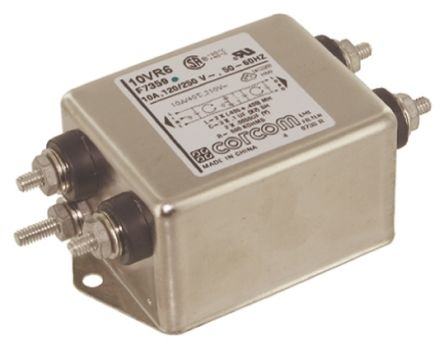 10VR6 Powerline Filter 100.6mm Length,, 10 A, 250 V ac product photo