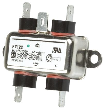 10EH1 Powerline Filter, 10 A, 250 V ac product photo