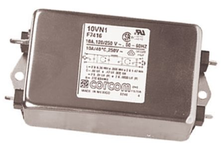 10VN1 Powerline Filter, 10 A, 250 V ac product photo