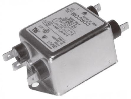 10MV1 Powerline Filter, 10 A, 250 V ac product photo