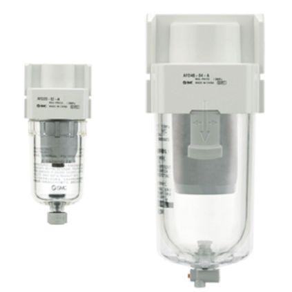 SMC 240 L/min 0.7Mpa Mist Separator, G 3/8, 0.01μm 3/8 in G, -5 → +60°C