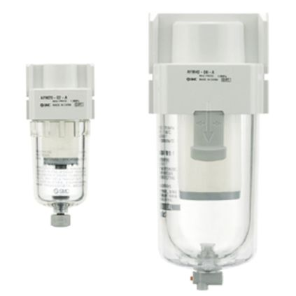 SMC 200 L/min 0.7Mpa Mist Separator, G 1/8, 0.3μm 1/8 in G, -5 → +60°C