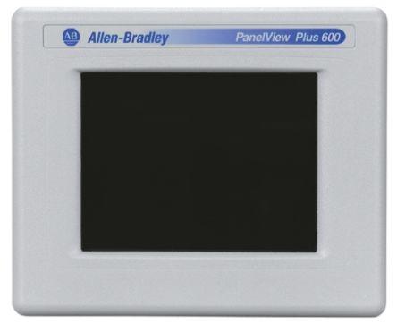 Allen Bradley 2711P Series Touch Screen HMI 5 7 in TFT LCD 320 x 240pixels
