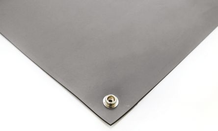 Grey Bench ESD-Safe Mat, 1.2m x 600mm x 2mm