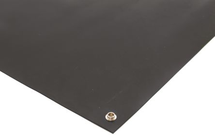 Black Bench ESD-Safe Mat, 1.2m x 600mm x 2mm