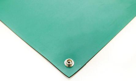 Green Bench ESD-Safe Mat, 1.2m x 600mm x 2mm