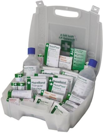 Carrying Case First Aid & Eyewash Kit for 10 people, 295 mm x 350mm x 120 mm