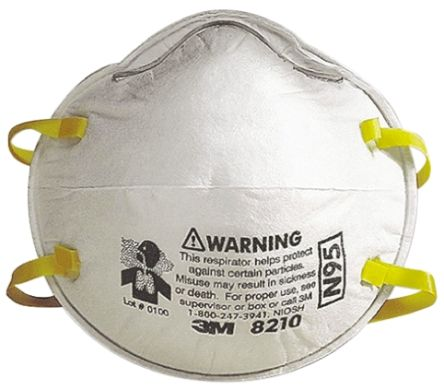 Disposable Clips Nose Respirator Adjustable N95 3m 4003ms8210