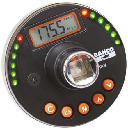 BahcoTAM12340 Square: 1/2in Digital Torque Tester, Range 12.5 → 251 lbf-ft, 150.5 → 3009 lbf/in, 17