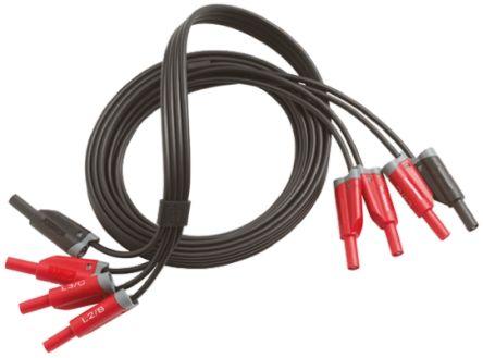 Fluke 3PHVL-1730 Energy Monitor Lead, For Use With Fluke 1730