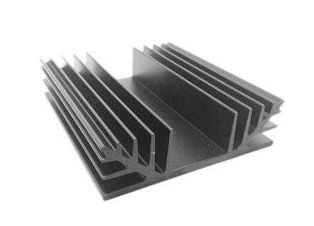 Heatsink, 1.9°C/W, 75 x 88 x 25mm