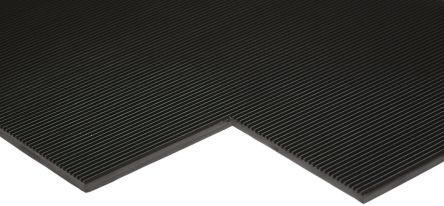 RS PRO Anti-Slip Electrical Safety Mat EN61111 Class 4 1m x 10m x 5mm