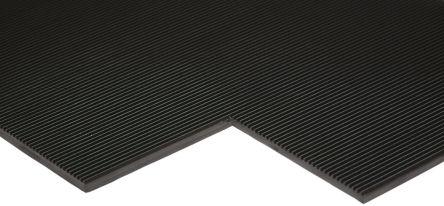 RS PRO Anti-Slip Electrical Safety Mat EN61111 Class 2 x 1m, 1m x 4mm