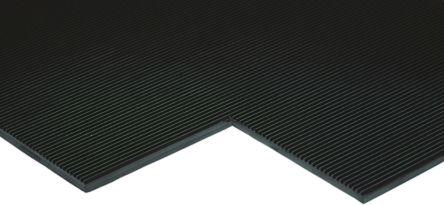 RS PRO Anti-Slip Electrical Safety Mat EN61111 Class 4 x 1m, 2m x 5mm