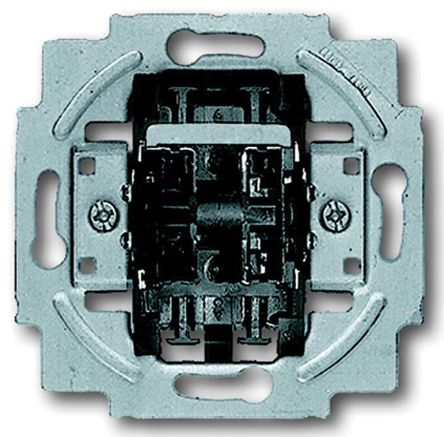 10 A Flush Mount Roller blinds Light Switch, 250 V, alpha bs®