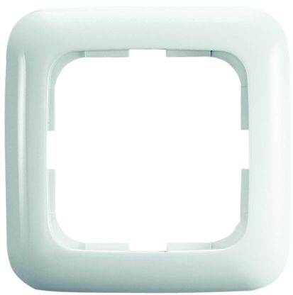 Busch Jaeger - ABB White 1 Gang Frame Thermoplastic Mounting Frame