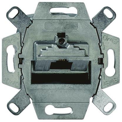 Busch Jaeger - ABB Data Outlet Frame Thermoplastic RJ45 Data Insert