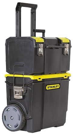 Stanley 3in1 2 drawers Plastic Tool Box, with