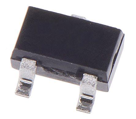 P-Channel MOSFET, 150 mA, 50 V, 3-Pin SOT-323 Nexperia BSS84AKW,115