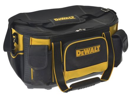 Dewalt Zipper Nylon Round Top Bag with Shoulder Strap