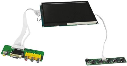 AverLogic AL330B-EVB-A1, AL330B SoC 5in Colour LCD Display Evaluation Board