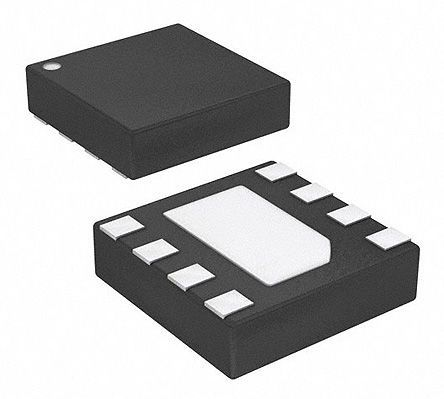 Si53102-A3-GM, Clock Generator CML, LVDS, LVPECL, 8-Pin TDFN