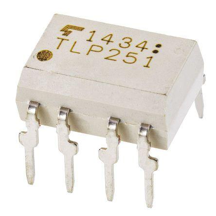 Optoacoplador Toshiba, TLP352, entrada AC, Salida LED infrarrojo, Montaje en orificio pasante, DIP, 50