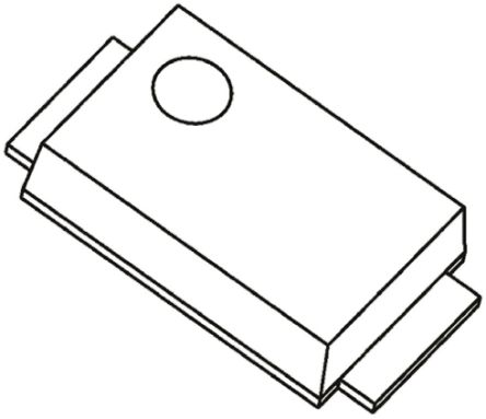Toshiba CMS10I30A SMT Schottky Diode, 30V 1A, 2-Pin M-FLAT 3000, 3.8mm