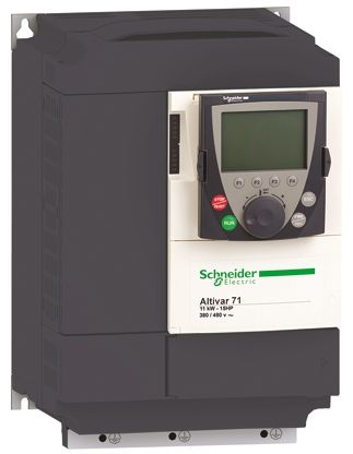 Schneider Electric Inverter Drive, 3-Phase In, 0 1 → 599Hz Out 18 5 kW, 400  V with EMC Filter, 45 5 A ALTIVAR 71