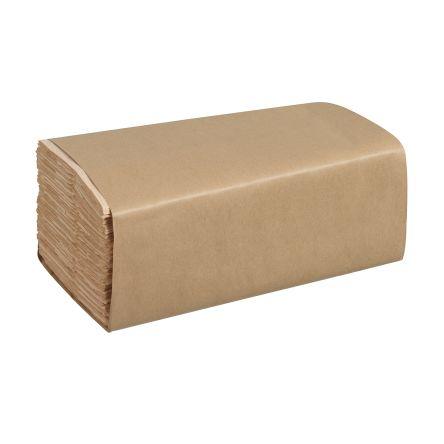 Kimberly Clark Hostess Folded, Interleaved Natural 310 x 230mm Paper Towel, 3600 Sheets